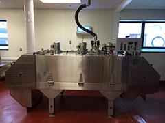 IQF Machine Set in Place