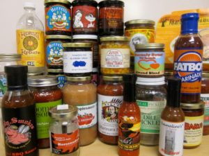 Products produced at the Western Mass Food Processing Center